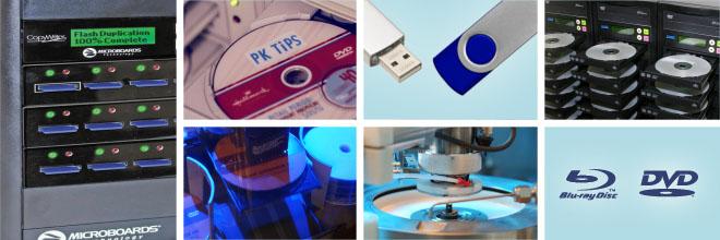 VCM Duplication & Replication Toronto - DVD, Blu-ray, CD, USB, SD card