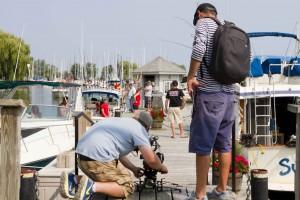 Bluffers Park Marina Video Shoot
