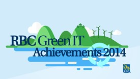 RBC 2014 Green IT Achievements