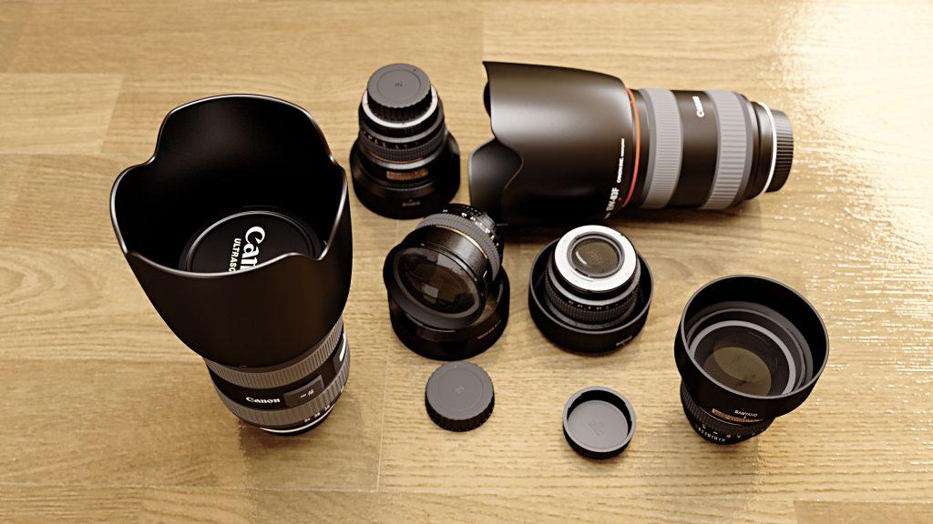 Toronto videographer - lenses