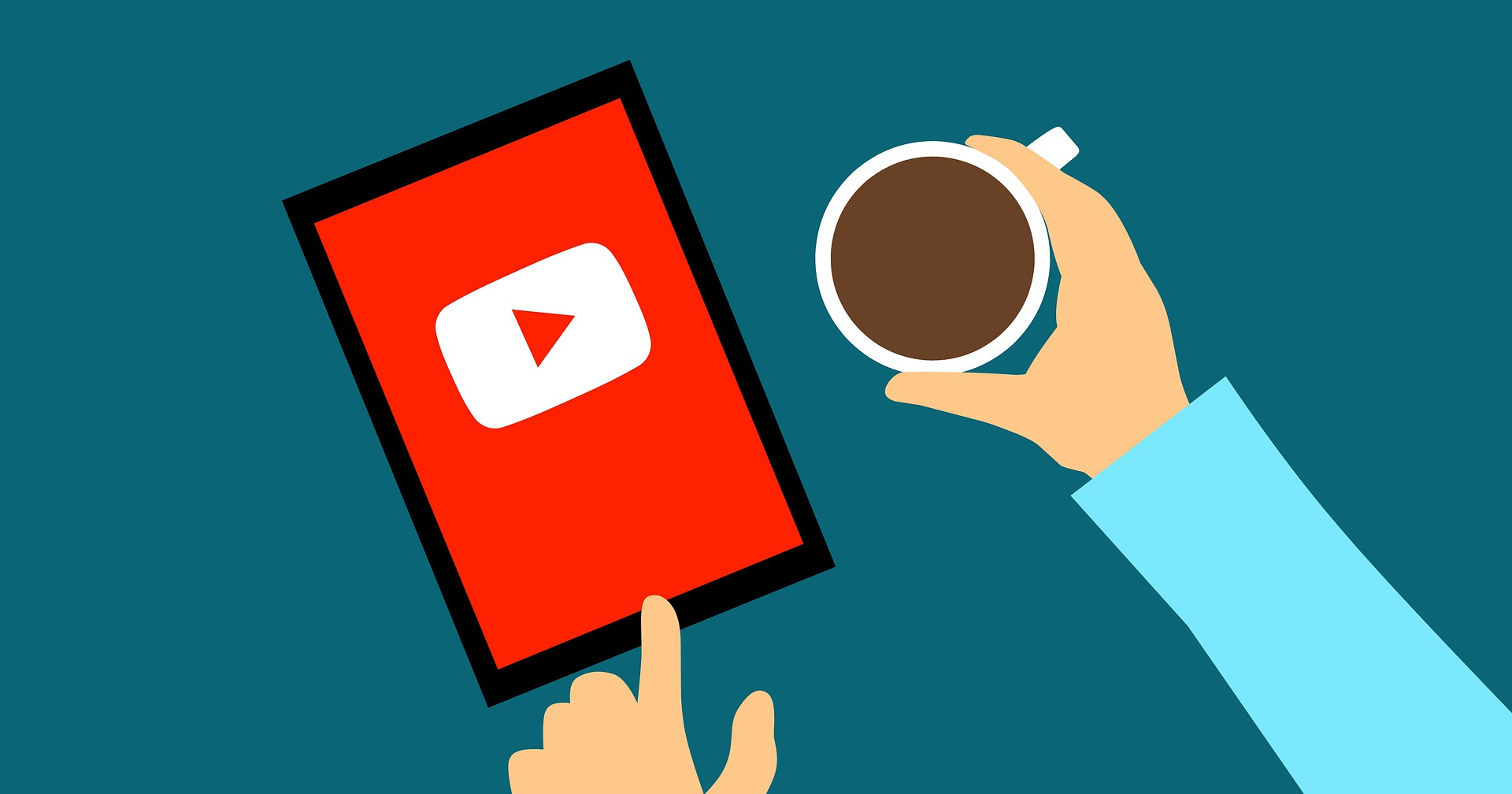 Video content and coffee