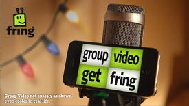 Fring Mobile 4-way Video Chat