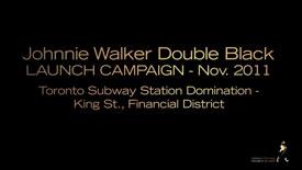 Johnnie Walker Double Black Launch Video