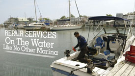 Bluffers Park Marina Services Video
